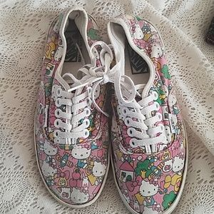 Discontinued Hello Kitty Vans